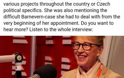 Milá paní velvyslankyně Norska – Ne. Stále nechápeme!